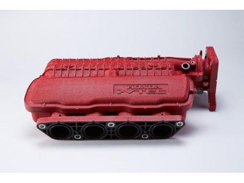 SPOON TYPE R紅色結晶沙烤漆FIT進氣岐管,引擎室美化必備虛榮部品