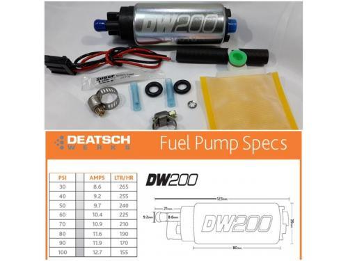 Deatschwerks DW200 高流量汽油泵浦 255LPH