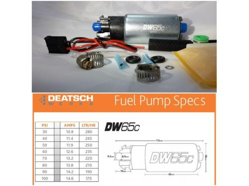 Deatschwerks DW65c 高流量汽油泵浦 265LPH