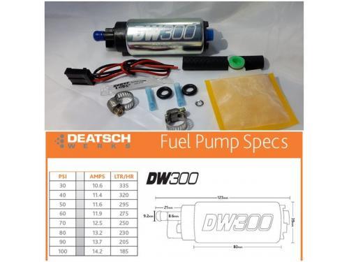 Deatschwerks DW300 高流量汽油泵浦 320LPH